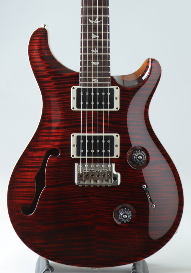 Limited Edition Custom 24 10 Top Semi-Hollow Red Tiger 2014