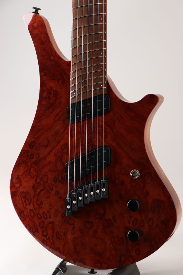 Oni Guitars Essi 7st  Red Gum Burl オ二ギターズ サブ画像10