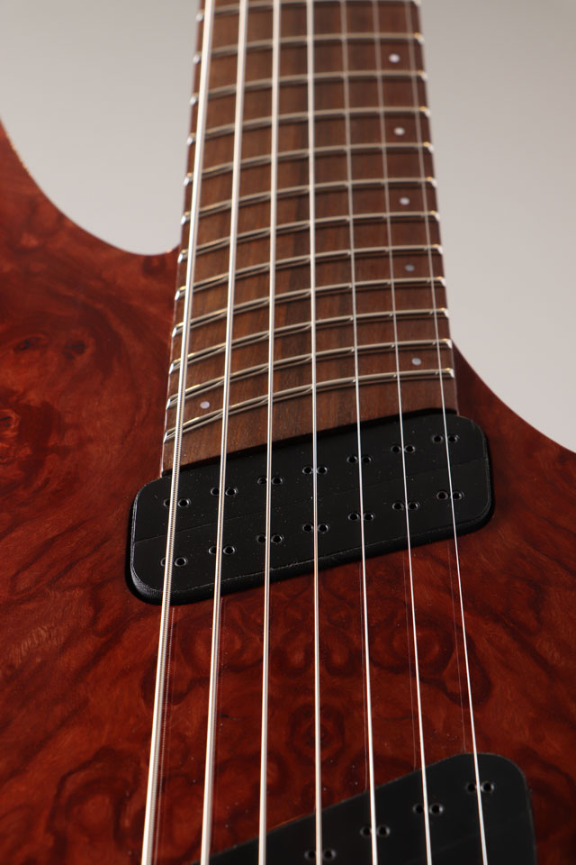 Oni Guitars Essi 7st  Red Gum Burl オ二ギターズ サブ画像12