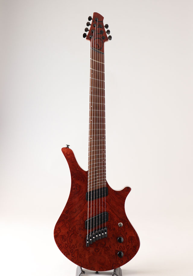 Oni Guitars Essi 7st  Red Gum Burl オ二ギターズ サブ画像3