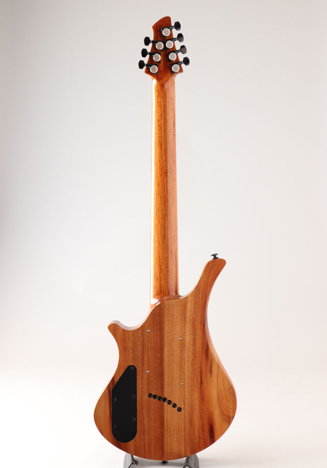 Oni Guitars Essi 7st  Red Gum Burl オ二ギターズ サブ画像4