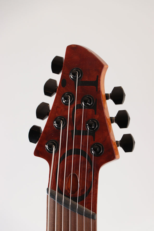 Oni Guitars Essi 7st  Red Gum Burl オ二ギターズ サブ画像5