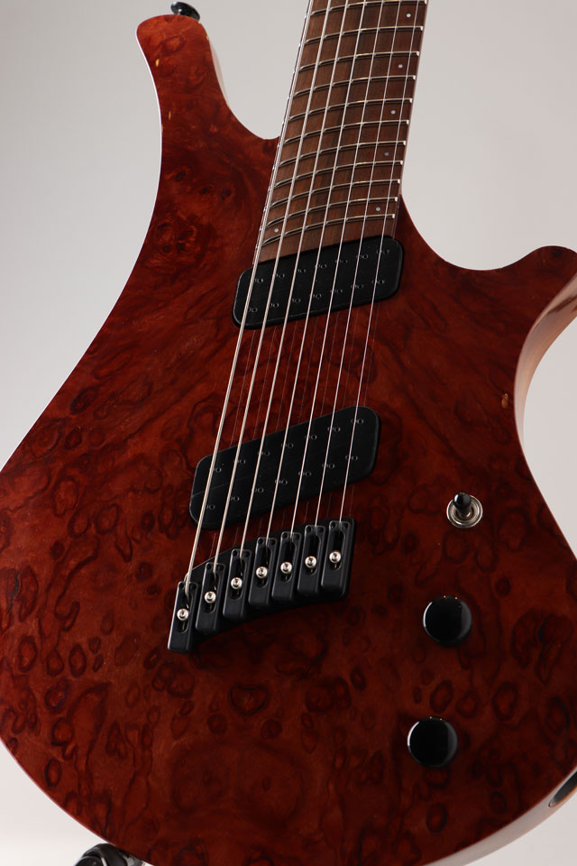 Oni Guitars Essi 7st  Red Gum Burl オ二ギターズ サブ画像9