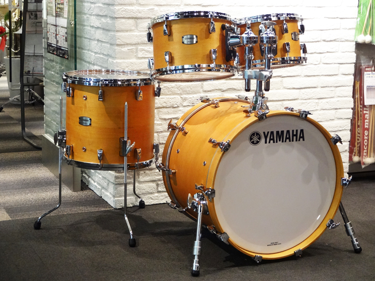 "Absolute Hybrid Maple 20"" 14"" 12"" 10"" Vintage Natural"