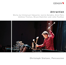 【CD/ネコポス発送】Christoph Sietzen/Attraction