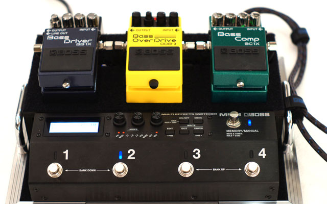 BOSS MS-3 Multi Effects Switcher ボス サブ画像4