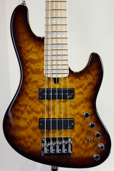 JABBA 5st CUSTOM 3A Quilted Maple ~Aguilar Combination~【試奏動画有り】
