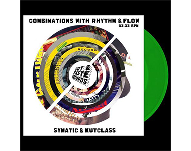 "Symatic & Darcy D - Combinations with Rhythm and Flow [Astro Green] 7"" レコード バトルブレイクス"