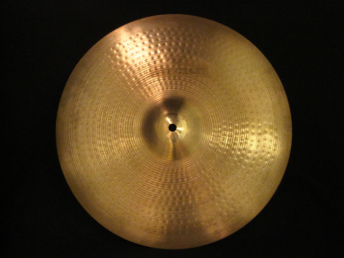 "【中古品】80's AA 15"" Thin Crash 900g"