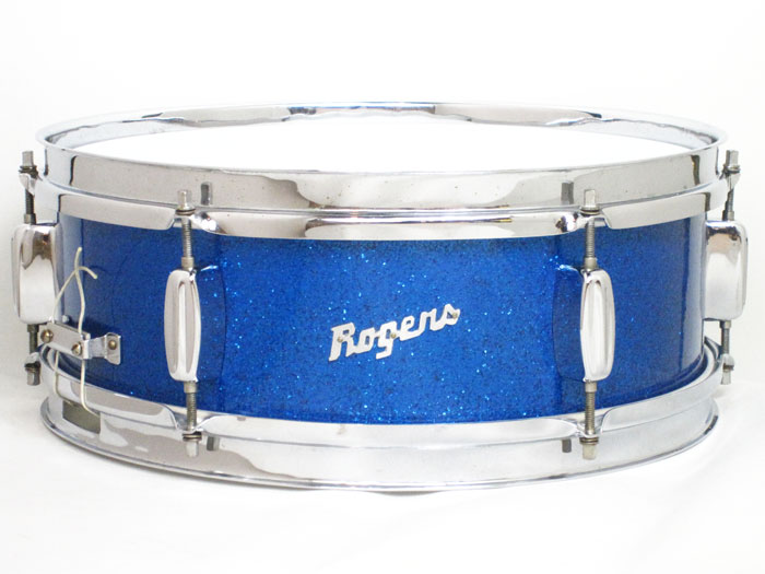 "【VINTAGE】Early 60's Luxor Model Blue Sparkle Pearl 14""x5"" Cleveland Ohio"
