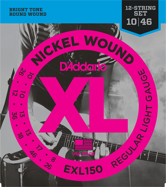 EXL150 [Nickel Wound 12弦 10-46]