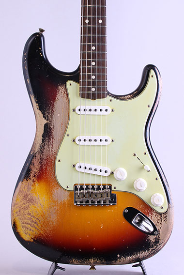 Master Built 63 Stratocaster Heavy Relic  by Dennis Galuszka【S/N:R94142】