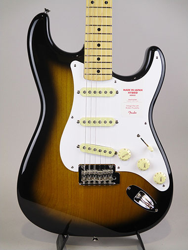 Made in Japan Hybrid 50s Stratocaster/Tobacco Burst【S/N:JD18014392】