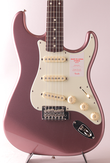 Made in Japan Hybrid 60s Stratocaster/Burgundy Mist Metallic【S/N:JD17047634】