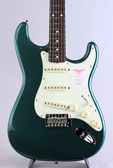 Made in Japan Hybrid 60s Stratocaster Sherwood Green Metallic