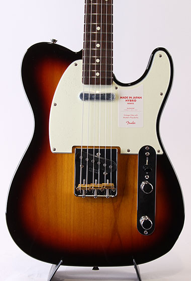 Made in Japan Hybrid 60s Telecaster/3-Color Sunburst
