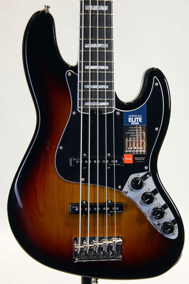 2017 AMERICAN ELITE JAZZ BASS V (3TSB/E)【別個体試奏動画有り】