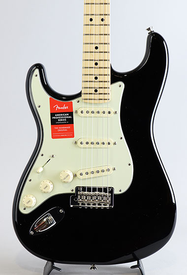 American Professional Stratocaster Left-Hand/Black/M【S/N:US17034465】