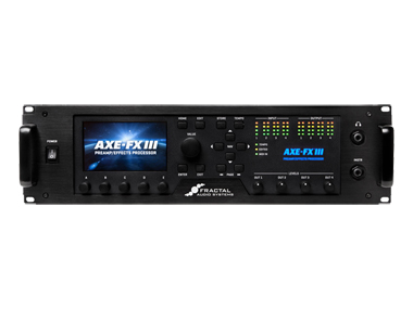 Fractal Audio Systems AXE-FX III フラクタルオーディオシステムズ