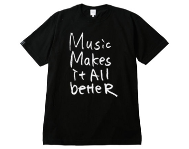 【ステッカー付き】MMIB T-shirt / 6.2oz BLK
