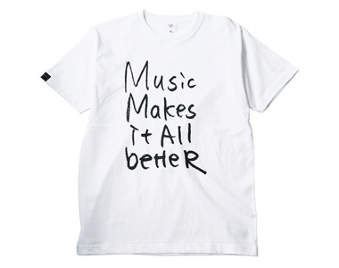 【ステッカー付き】MMIB T-shirt / 6.2oz WHT