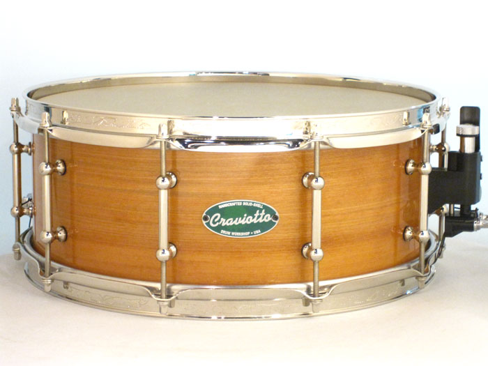 NOS 2002' Craviotto Lake Superior Solid Birch Timeless Timber 39/100