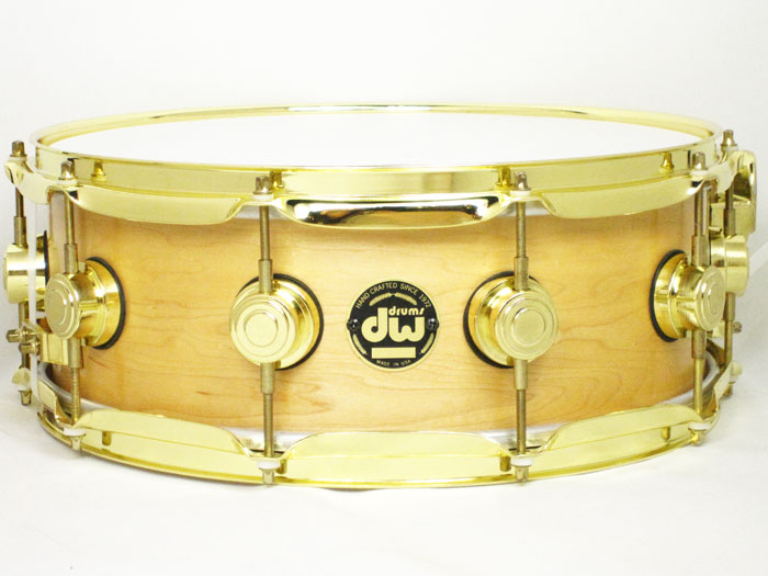 "1998' Drum Workshop Craviotto Series Solid Maple 14""×5.5"""
