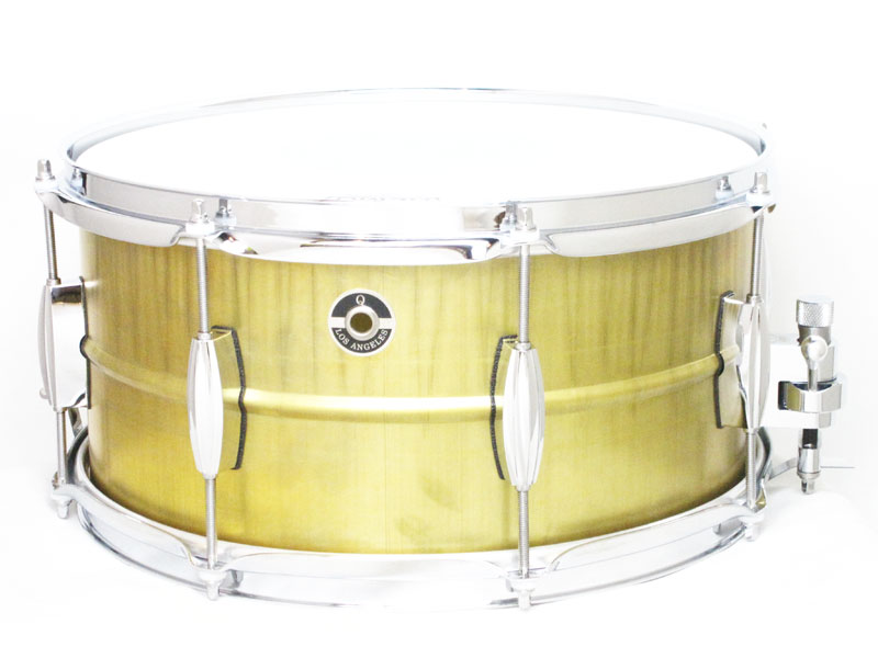 Q Drum GENTLMAN'S Series Brass 14x7 GSBR-1470 キュードラム