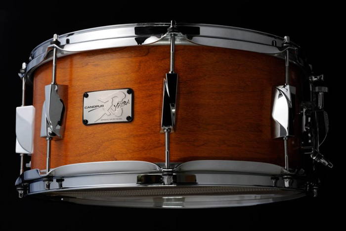 JSM-1455 刃 YAIBA Maple Snare Drum Antique Brown Mat LQ