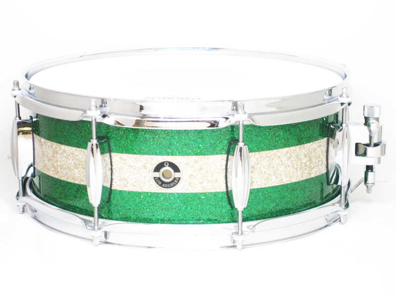 "【数量限定大特価品】Maple 10ply 14""x5.5"" GREEN&SILVER SPARKLE M10-1455 GSSS"