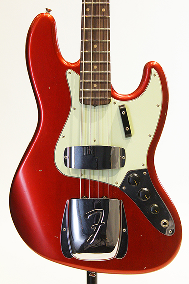 Custom Built 1962 Jazz Bass Journeyman Relic Aged Candy Apple Red / MH 【試奏動画有り】