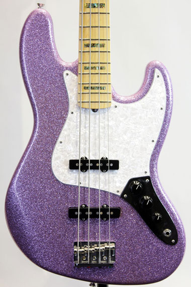 Limited Edition Adam Clayton Jazz Bass Purple Sparkle