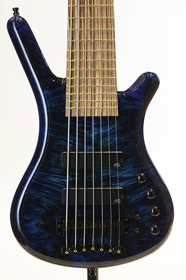 "Custom Shop Corvette $$ 7st Bolt-on ""Birdseye Poplar Burl Top"""
