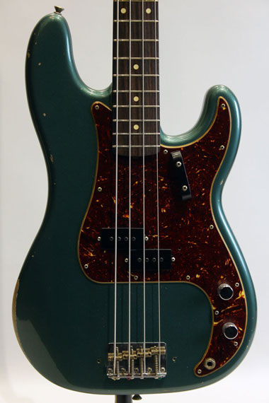 Custom Build 1960 Precision Bass Relic SHERWOOD GREEN MET/MH【試奏動画有り】【送料無料】