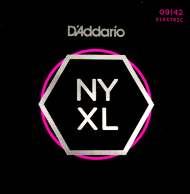 D'Addario NYXL0942 Nickel Wound ダダリオ