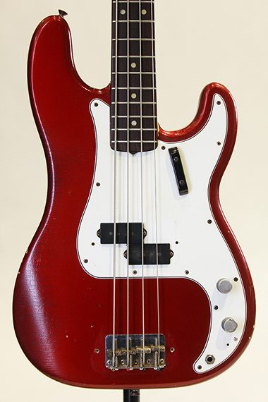 "Precision Bass ""Original Candy Apple Red"""