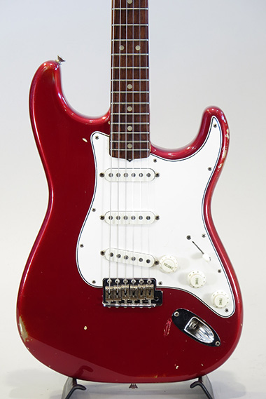 "1965 Stratocaster ""Original Candy Apple Red"""