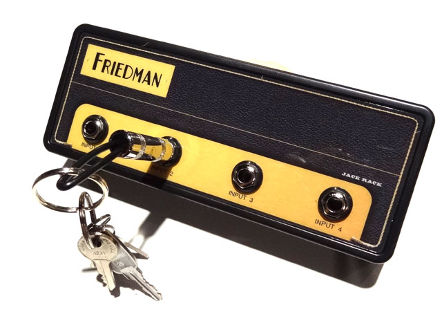 Pluginz Official FRIEDMAN Jack Rack- BE-100 with 4 keychains プラグインツ