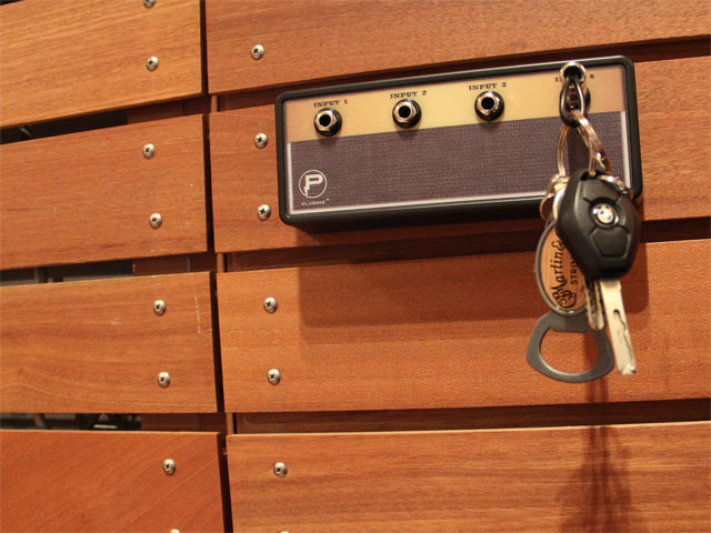 """Legato"" Jack Rack with 4 keychains"