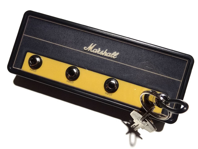 "Official MARSHALL Jack Rack- ""1959SLP""with 4 keychains"