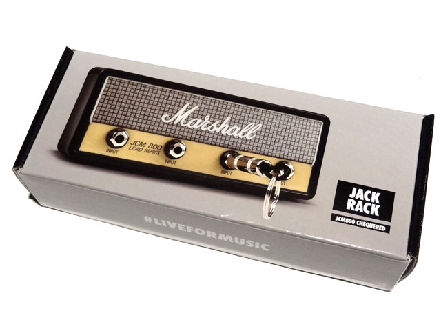 Pluginz Official MARSHALL Jack Rack- JCM800 CHEQUEREDwith 4 keychains プラグインツ サブ画像2