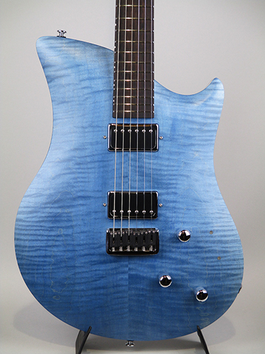 Flamed Reuss Blue Jane with Piezo