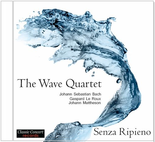 【CD/ネコポス発送】The Wave Quartet/Senza Ripieno