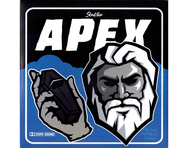 "Skratcher (Wundrkut, Paul Skratch & Mike MSA) - Apex 7""  レコード バトルブレイクス"