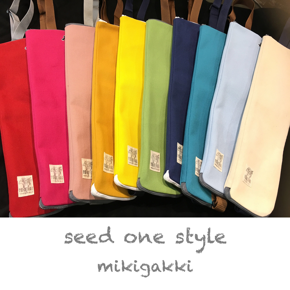 SEED ONE STYLE 【MIKI GAKKI x seed one style】オリジナル帆布スティックケース(桃色) シードワンスタイル サブ画像6