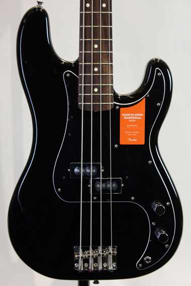 Traditional '70s Precision Bass (BLK)【試奏動画有り】