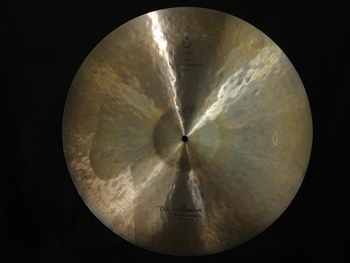 "【選定買付シンバル】Tony Williams Model 22"" Ride 2371g"