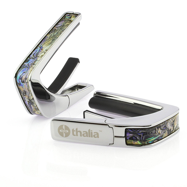 Chrome Finish with Dragon Abalone Inlay