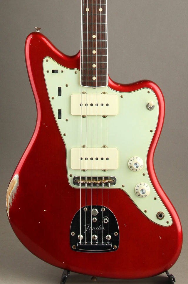1965 Jazzmaster Relic Candy Apple Red Masterbuilt by Dale Wilson