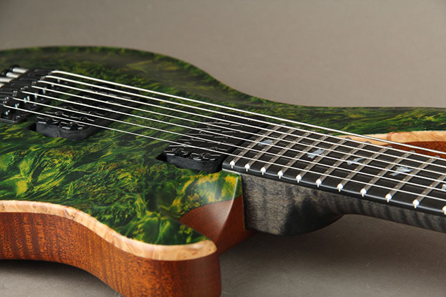 Paul Reed Smith Private Stock #5777 Custom24 7 String Multi-scale Burl Maple Top Rainforest ポールリードスミス サブ画像17